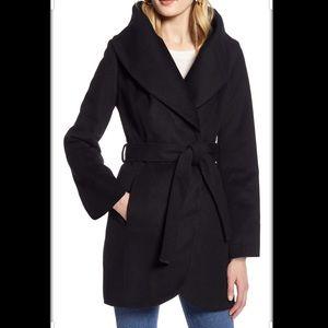 Halogen Wool Blend Wrap Coat sz XXL NWT E2